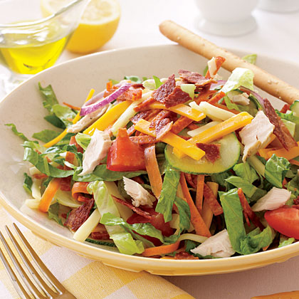 Low-Fat Chef's Salad Recipe