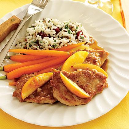 Pork Tenderloin with Sautéed Apples Recipe