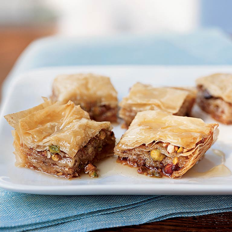 baklava with wildflower honey recipe myrecipes