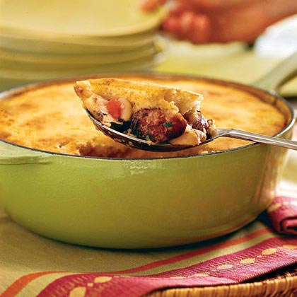 Sausage-and-Chicken Cassoulet Recipe