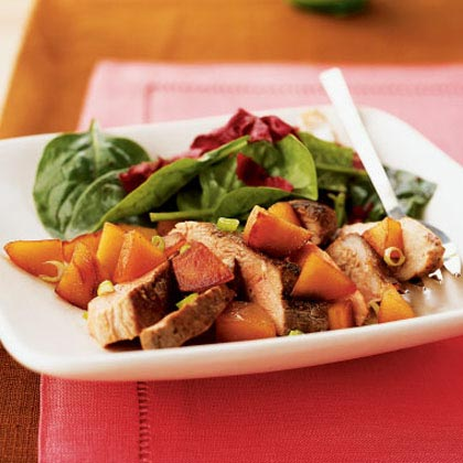 Five-Spice Duck Breasts with Caramelized Quince Recipe