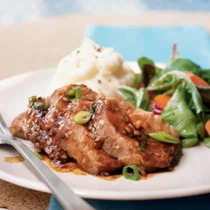 Honey-Hoisin Pork Tenderloin Recipe