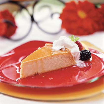 Orange Flan Recipe | MyRecipes
