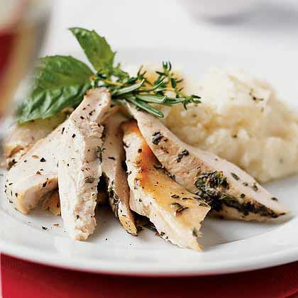 Provençal Herb-Marinated Roast Chicken
