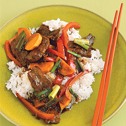 Garlicky Hoisin Beef Recipe