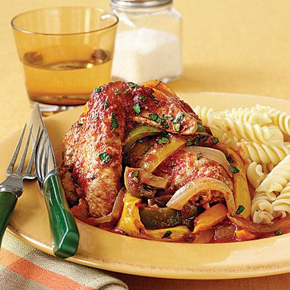 Chicken Cacciatore