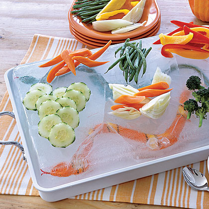 Snake-in-the-Lake Dip and Crudités Recipe