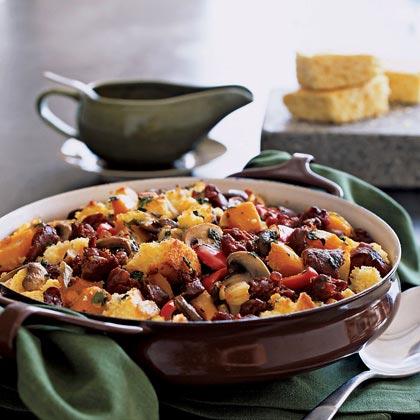 Southwest Cornbread and Chorizo Dressing Recipe