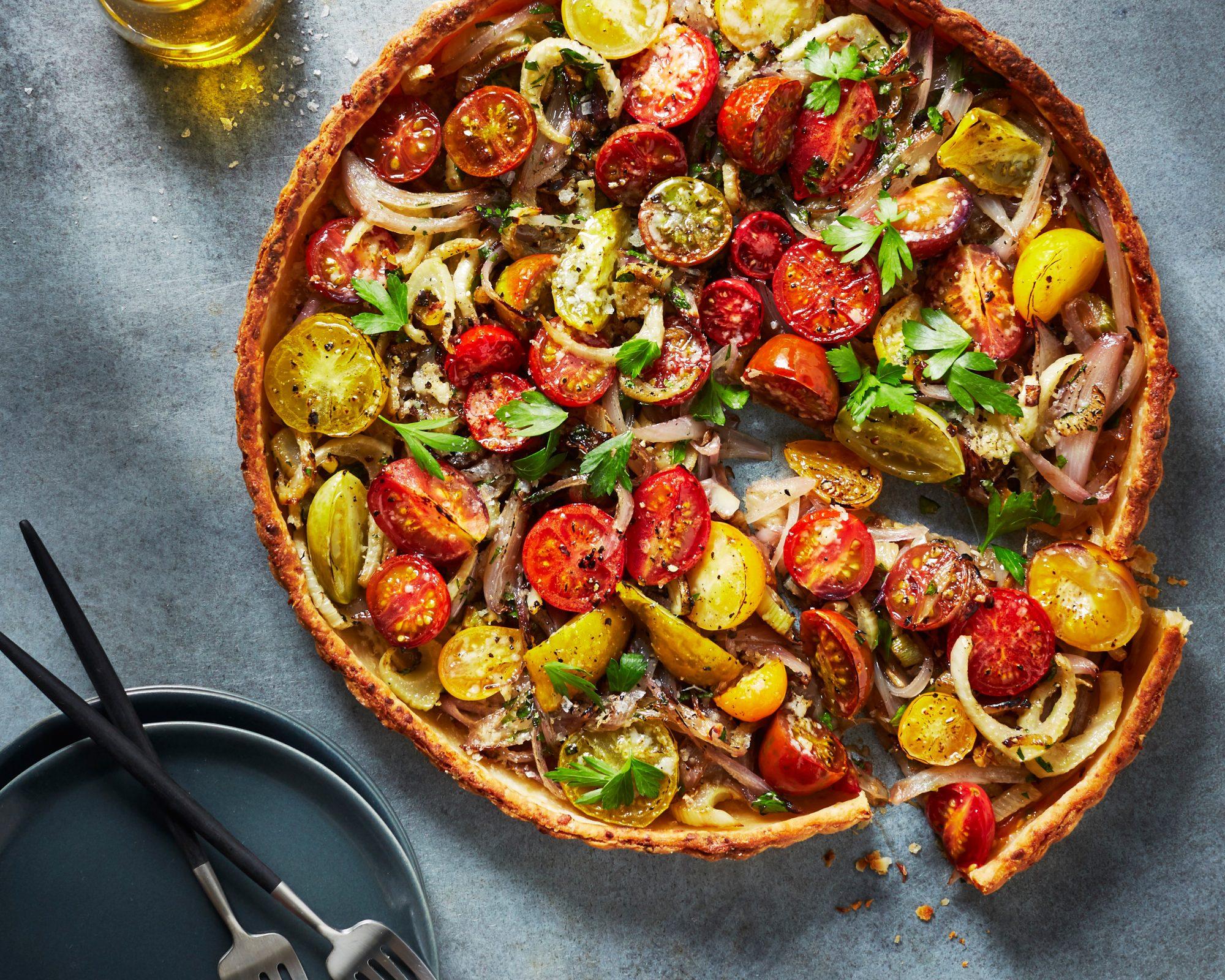 Fennel-Tomato Tart