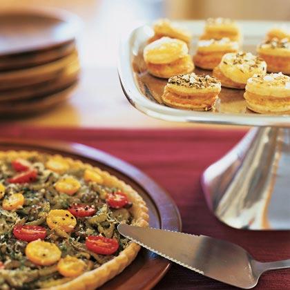 Three-Cheese Pastry Puffs Recipe