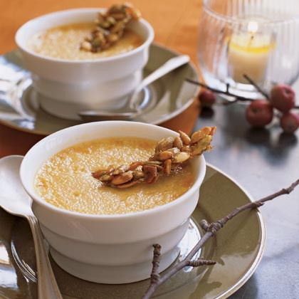 Pumpkin Chai Pots de Crème