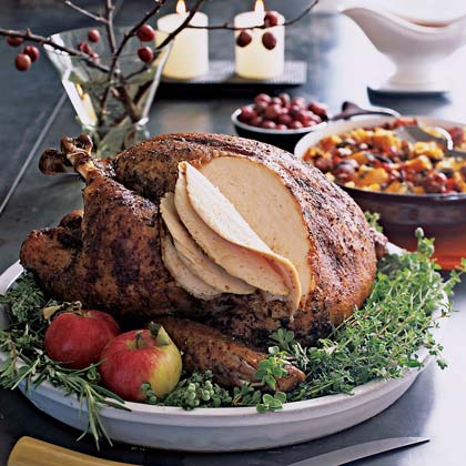 Dry-Cured Rosemary TurkeyRecipe
