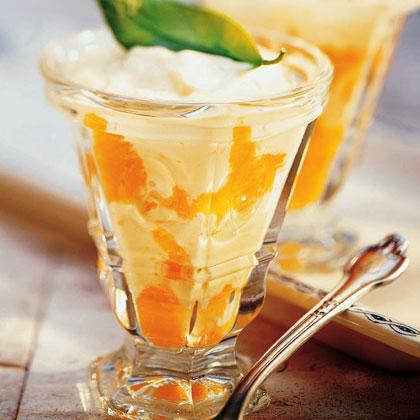 Tangerine Cream Parfaits