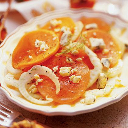 Persimmon-Fennel Salad
