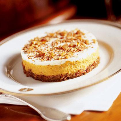 Fall Pumpkin Cheesecakes