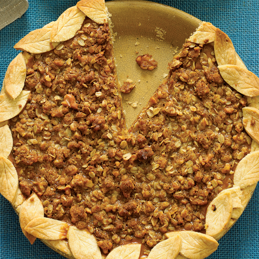 """a special pumpkin pie for those who need a little less pumpkin and a bit more 'warm' flavor""—candi79Pumpkin Streusel Pie Recipe"