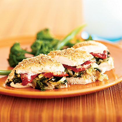 spinach-stuffed-chickenRecipe