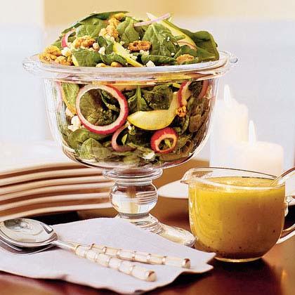 Autumn Salad With Maple-Cider Vinaigrette