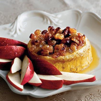 Baked Honey-Raisin Brie