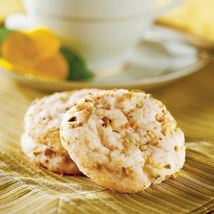 Lemon-Basil Snaps Recipe