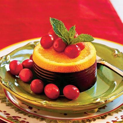 Orange 'n' Jellied Cranberry Sauce Stacks