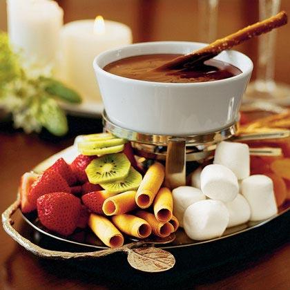 Chocolate FondueRecipe