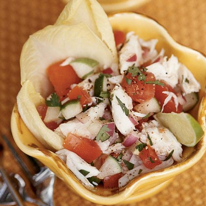and avocado salad crabmeat and endive salad recipes dishmaps crab and ...