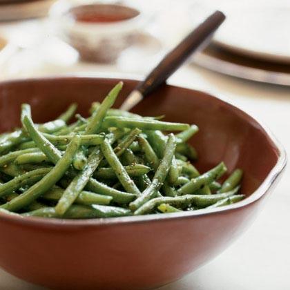 Oven roasted green beans recipe myrecipes