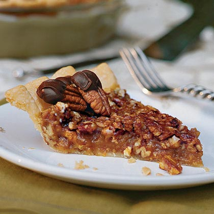 Caramel-Pecan Pie RecipeCreate this rich gooey caramel pecan pie for your family and friends. It is a perfect special occasion pie.