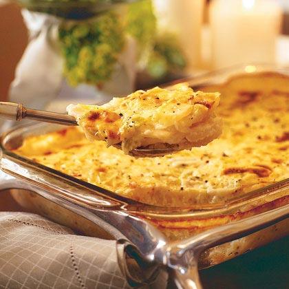 Potato-Leek Gratin Recipe | MyRecipes.com