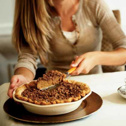 Cinnamon Streusel-Topped Pumpkin Pie Recipe