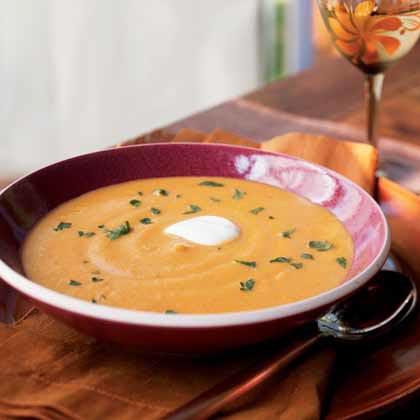 Spiked Pumpkin Soup