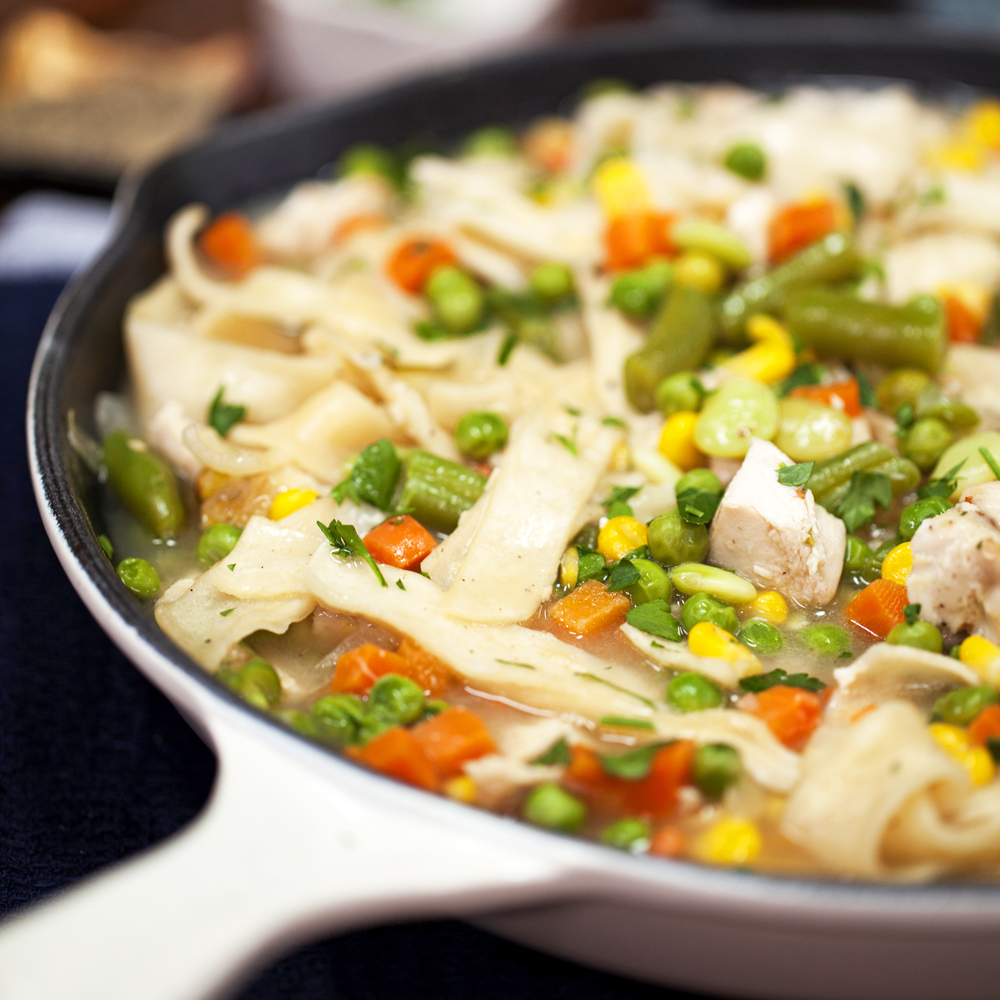 recipe: what is a good accompaniment to chicken and dumplings [19]
