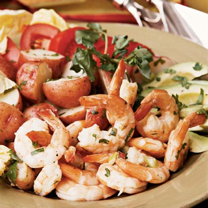Lime Shrimp SaladRecipe