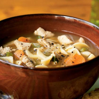 Cozy Turkey Soup Supper
