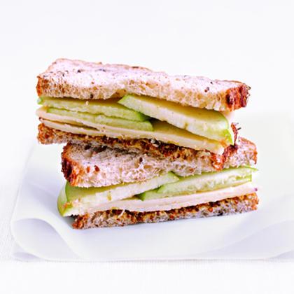 Cheddar and Apple Sandwich