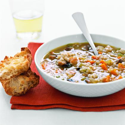 Mushroom Barley SoupRecipe