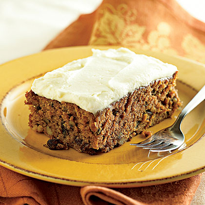 Applesauce Cake with Cream Cheese
