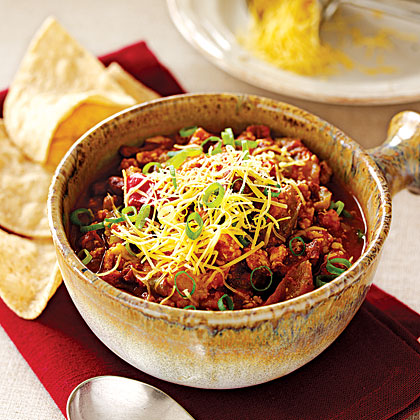 (Low-Fat) Chicken Chili