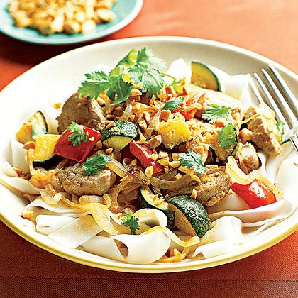 Pork Tenderloin Thai Curry