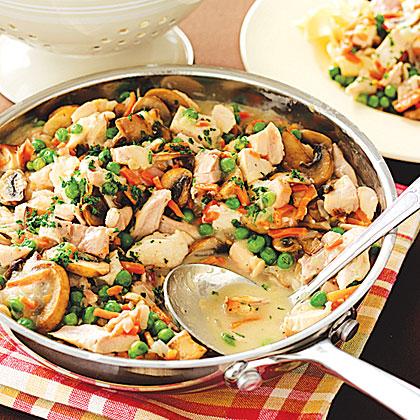Skillet Turkey Stew Recipe | MyRecipes.com