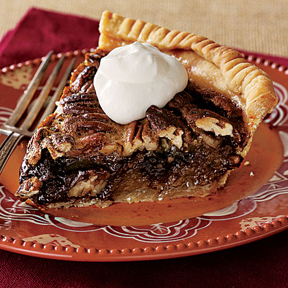 Tipsy Chocolate Pecan Pie