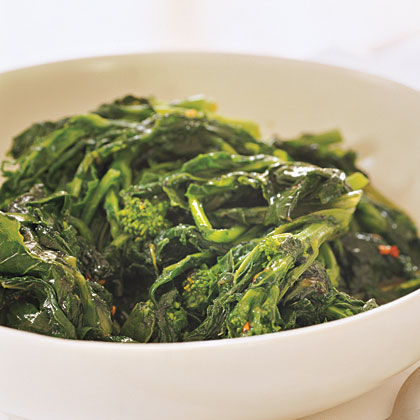 Broccoli Rabe with Currant Vinaigrette