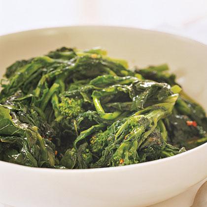 Broccoli Rabe with Currant Vinaigrette Recipe