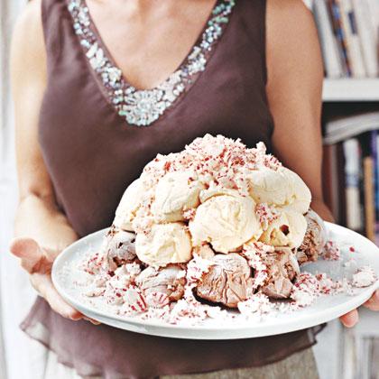 Ice Cream Bombe Recipe