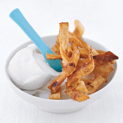 Cinnamon and Sugar Tortilla Strips Recipe