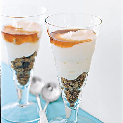 Yogurt and Granola Parfait