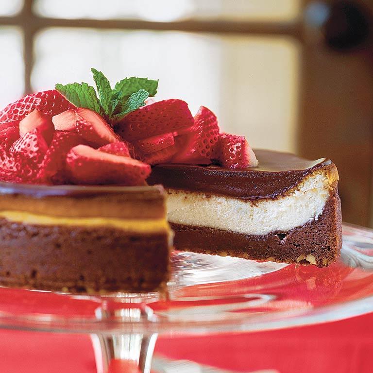 Chocolate Fudge Cheesecake Recipe