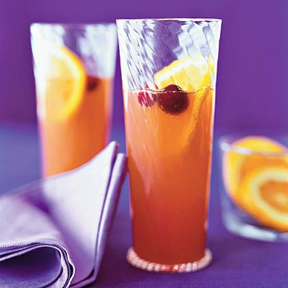 Fresh-Cranberry Mimosas