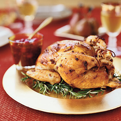 garlic-roast-chicken-chutney Recipe